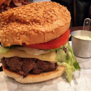 Burger Black Angus 320g - Burger Lab Experience