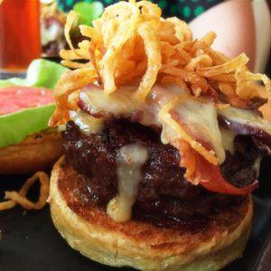 Hilton Mclean Hotel - Hart Bacon Jam Burger