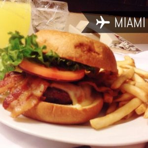 Hilton Miami Airport Hotel - Hilton Burger