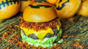 Burger do Halloween 2016 no Stunt Burger