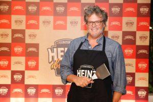 George Motz na abertura da 2ª Edição do Concurso Heinz Burger