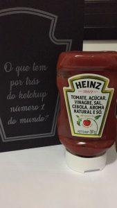 Novo rótulo ketchup Heinz: 06 ingredientes. E só.